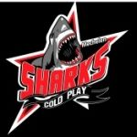 Cold Play Sharks Blue