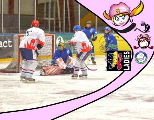 Dames ijshockey terug in ..