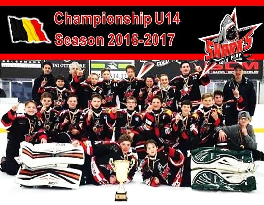Cold Play Sharks verovert de titel bij U14!