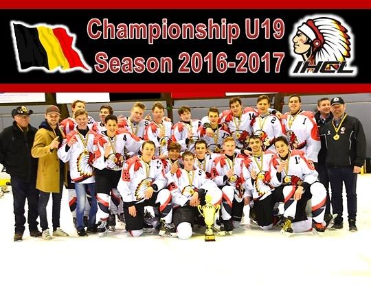 Leuven Chiefs, Kampioensbeker U19 is overhandigd!