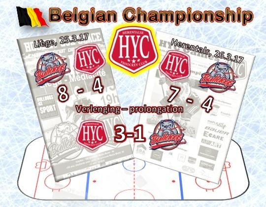 Herentals wint Belgisch kampioenschap