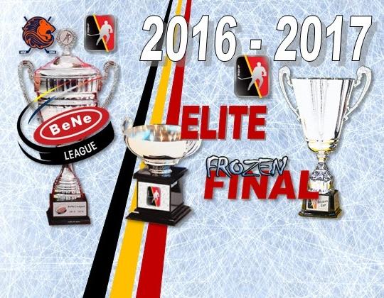 De tweede editie van de BeNe-league met 14 teams.