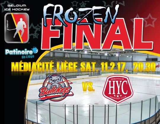 Ready to rumble; Frozen Final 2017 uitverkocht !