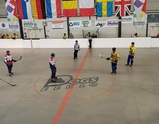 Top Inline Hockey in Eeklo this long weekend.