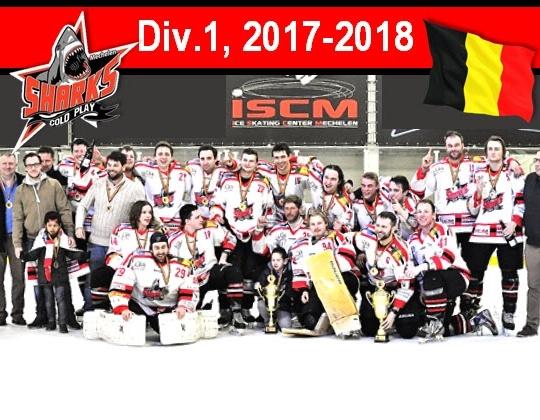 Divisie 1, Cold Play Sharks verlengt zijn Titel!