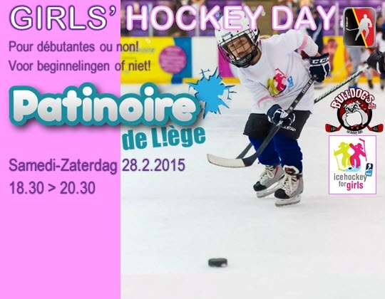 GIRLS HOCKEY DAY - 28 Februari (IJsbaan Luik)