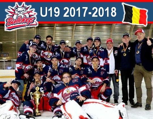 Eerste historische titel U19 voor Bulldogs Luik!