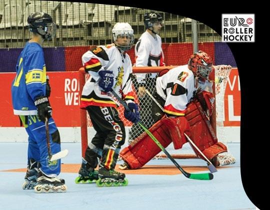 Belgische U16 inline hockeyselectie terug van eerste Europese test.