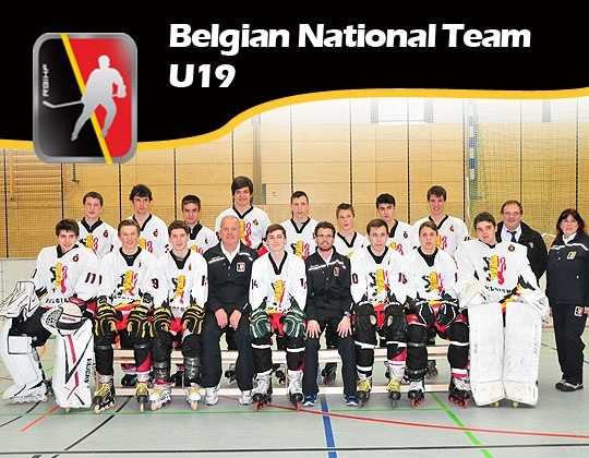Inline U19 Nationaal team wint van Duitsland.