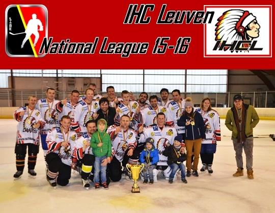 National League Kampioen 2015/2016: IHC Leuven!