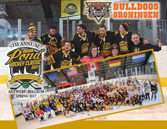5de 'Indoor Pond Hockey Classic' opnieuw succes voor Antwerp Phantoms