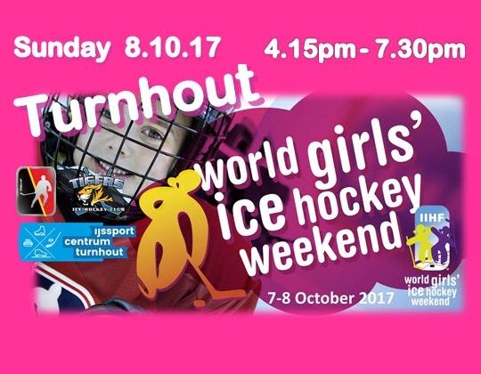 Girls Ice Hockey Weekend op 08/10/2017 in Turnhout!