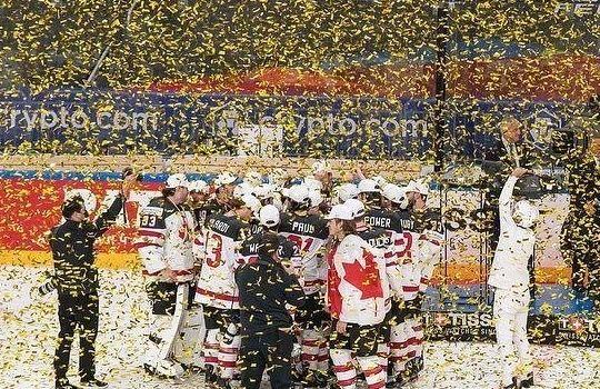 Team Canada pakt in Riga de wereldtitel