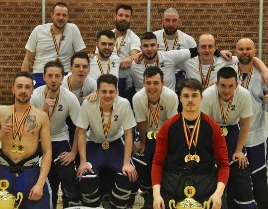Divisie 2 Inline - Kampioen 2018-19 : Huskies