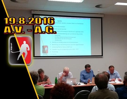 RBIHF Algemene Vergadering 2016