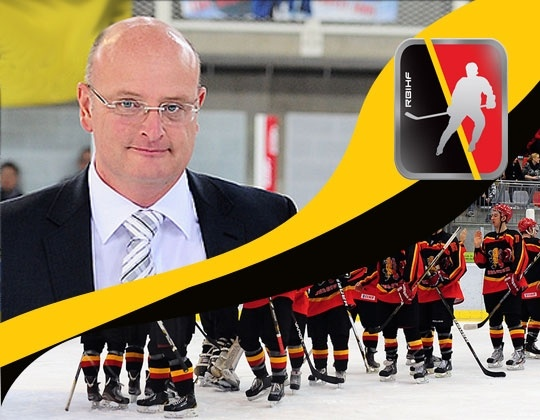IIHF interview with RBIHF president Pascal Nuchelmans
