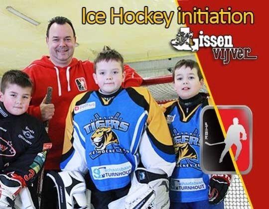 Ijshockey initiatie te Geel