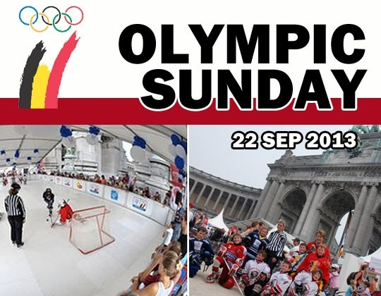Olympic Sunday in Brussels