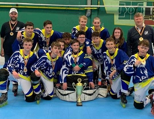 U16 kampioen Inline : Wolves