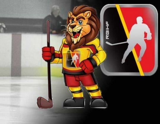 Ik ben Leeuw, ijshockeyleeuw, zonder naam ...