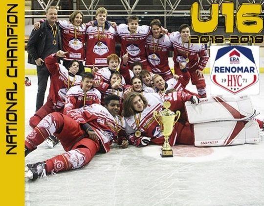 Era Renomar HYC wint Belgisch U16 Kampioenschap.