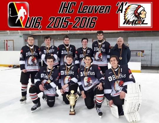 IHCL U16 wint het Belgisch Kampioenschap!