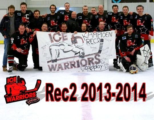 Rec2: de titel voor Ice Warriors Cold Play Mechelen