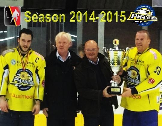 Antwerp Phantoms kampioen