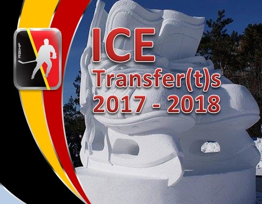 ICE: Goedgekeurde National Transfers