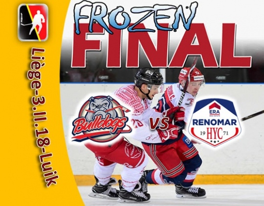 03 februari Frozen Final 2018 : Bulldogs vs HYC!