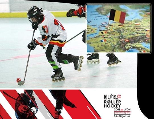Inline hockey vs de rest van Europa