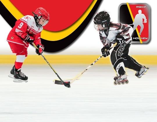 Inline hockey en ijshockey meer dan toeval.