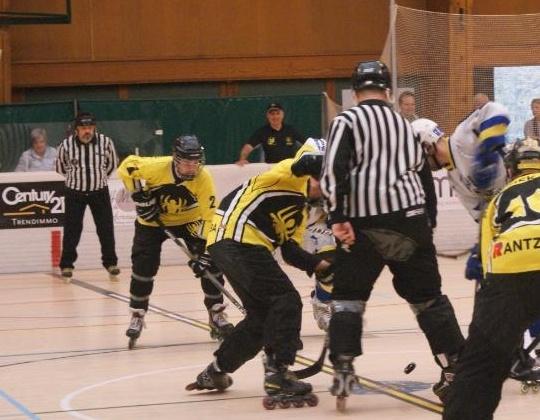 Derde wedstrijd nodig in de spannende finale van de Play-offs National 1 Inline hockey