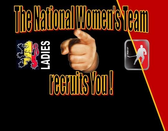 Oproep aan alle Belgische ijshockeyspeelsters