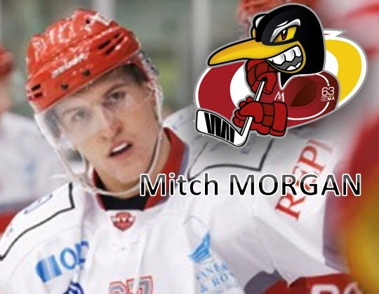Mitch Morgan naar Morzine-Avoriaz (FRA)