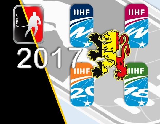 Wereldkampioenschappen 2017 voor Team Belgium bekend!