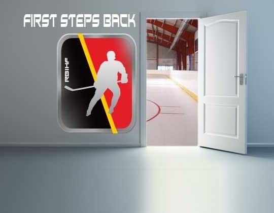 De deur terug naar het ijs ...