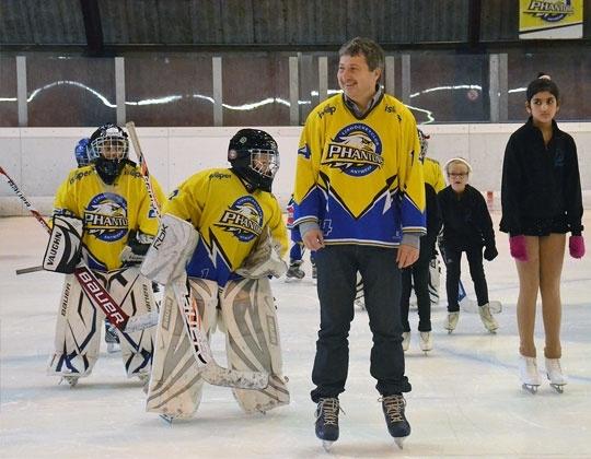 Antwerp Phantoms slaat handen in elkaar met Stad voor publieksmomenten op ijsbaan Ruggeveld