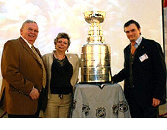 Stanley Cup in België !