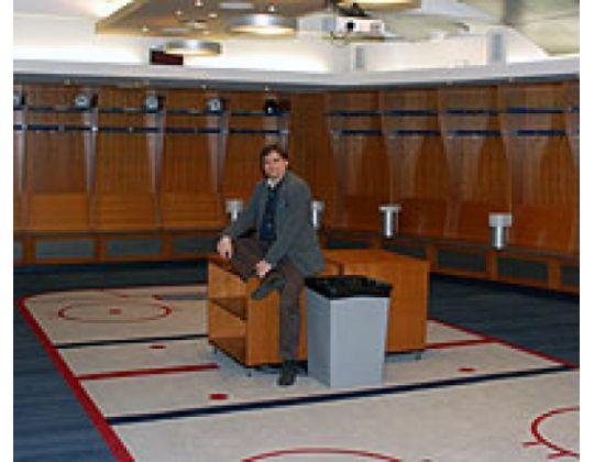 SG KBIJF bezoekt 'Inner Sanctum' Edmonton Oilers