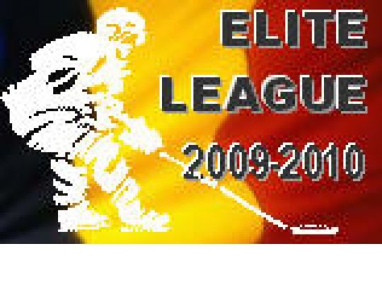 ELITE LEAGUE (16 - 17 - 18 okt. 2009): Uitslagen