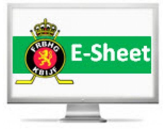 E-sheet in vernieuwde vorm