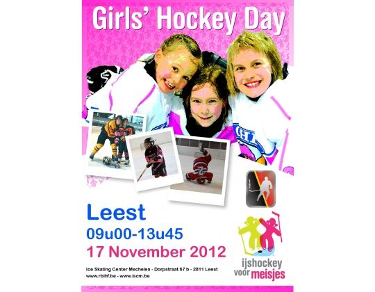 Girls Hockey Day in Leest (17.11.2012)