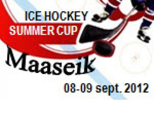Ice Hockey Summer Cup: 8-9 september 2012 in Maaseik