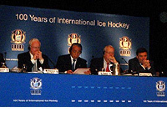 IIHF-Congres te Montréal, Canada - Dag 1