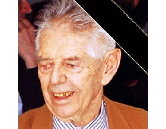 GEORGES HARTMEYER, OUDSTE LID VAN DE KBIJF, OVERLEDEN