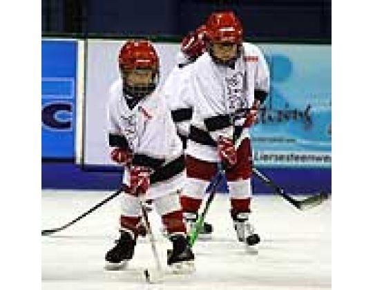 Jeugdige ijshockey drukte in Heist op den Berg