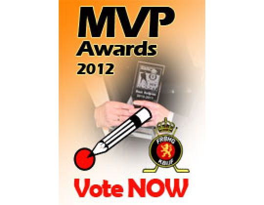 Most Valuable Player awards 2012, de beslissing is aan U �