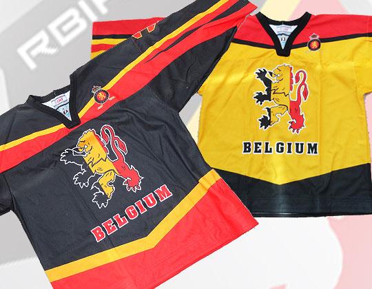 Nationaal team shirts.