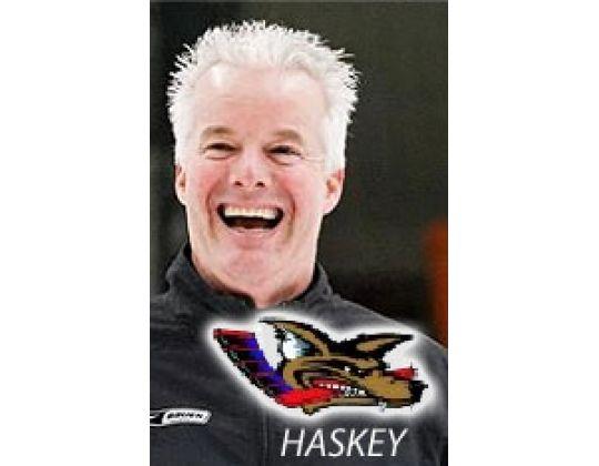 Haskey gaat voluit voor Ronald Beks
